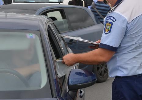 Şoferii ar putea rămâne fără permis dacă nu achită amenzile în 30 de zile