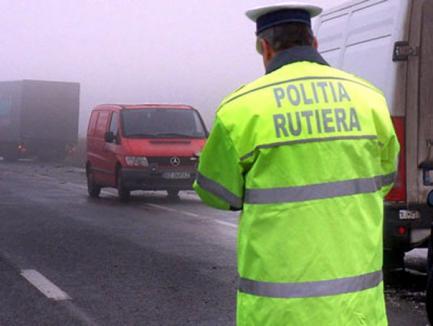 Doi morţi şi patru răniţi în ultimele zile pe şoselele din Bihor
