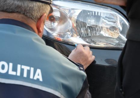 Un tânăr șofer de Audi a lovit un bărbat, în Oradea