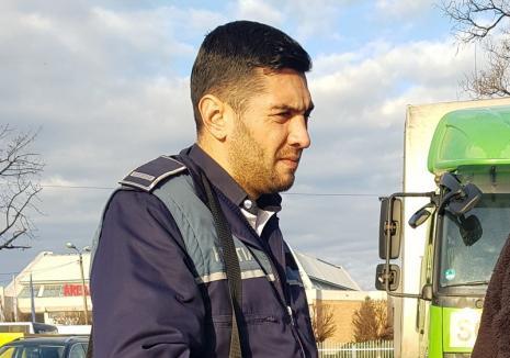 Agentul parfum: Polițist din Oradea acuzat de comportament vulgar și aluzii sexuale la examenul pentru permisul auto!