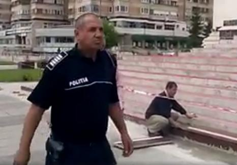 Agentul care a interzis filmarea catedralei din Centrul Civic de pe trotuar, pe motiv că e proprietatea Bisericii, este cercetat disciplinar (VIDEO)