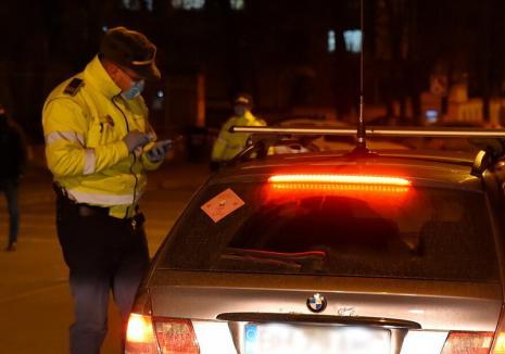 De 4 ori penal: băut și fără permis, un bihorean a condus o maşină neînmatriculată pe care a montat numere false
