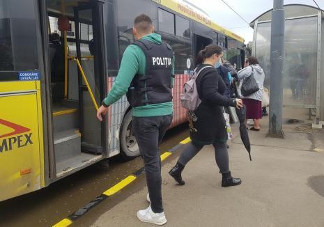 Două amenzi şi 12 avertismente pentru nerespectarea măsurilor anti-Covid în Bihor. Toate, în mijloacele de transport în comun