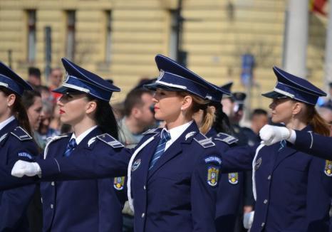 Liber la angajări în Poliţia Bihor: se caută ofiţeri, agenţi şi personal contractual
