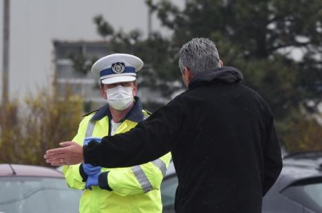Toate persoanele aflate în autoizolare în Bihor au fost verificate. Încep să curgă amenzile pentru cei care nu au fost găsiți acasă