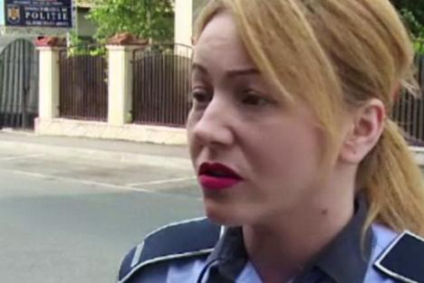 Poliţistă ameninţată cu moartea pe Facebook. Individul a fost reținut!