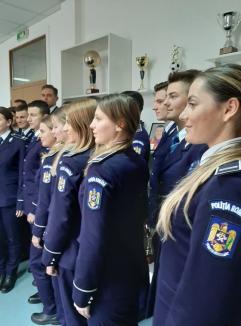 Aniversare cu avansări de Ziua Naţională a României: Şeful Biroului Rutier Oradea, Alin Gherman, a fost promovat înainte de termen pentru merite deosebite (FOTO)