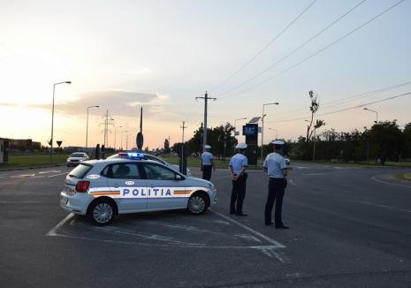 """Poliţiştii au """"periat"""" Oradea şi comunele din jur: un hoţ a fost prins furând în biserică, doi tineri tăiau cablul de telecomunicaţii de pe calea ferată"""