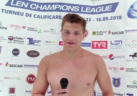 Primul transfer pentru echipa de polo CSM Oradea: A fost adus jucătorul româno-moldoveanSilvian Colodrovschi