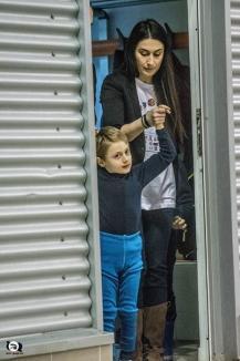 Poloiştii de la CSM Digi şi cei de la Progress Oradea s-au duelat din nou în scop caritabil, pentru a-l ajuta pe micuţul Vladimir (FOTO)