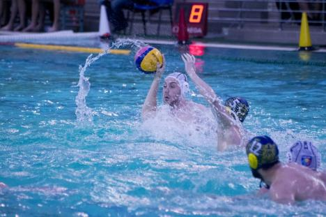 Polo: CSM Digi s-a impus clar în primul joc din semifinala cu Corona Sportul Studenţesc (FOTO)