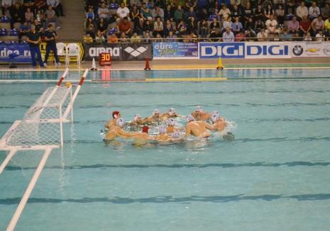 Poloiştii de la CSM Digi debutează în noul sezon acasă, cu un turneu din Liga Campionilor Europeni