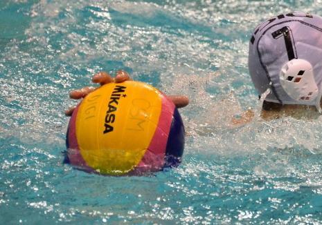 CSM Digi Oradea susţine, vineri şi sâmbătă, primele jocuri din semifinalele Superligii Naţionale de polo