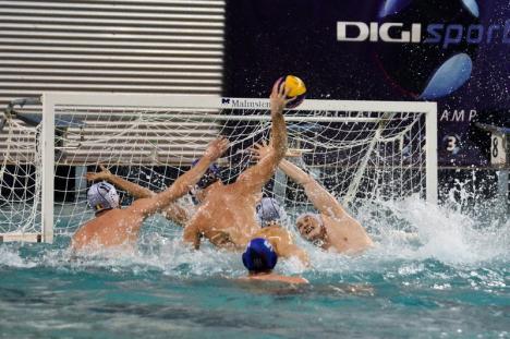 CSM Digi a pierdut cu 3-10 cel de-al doilea joc al finalei, de la Bucureşti, cu Steaua