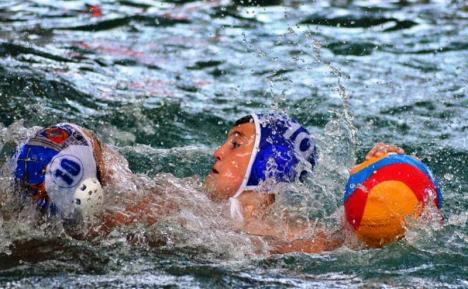 """Jocuri internaționale de polo copii, la Bazinul Olimpic """"Ioan Alexandrescu"""""""