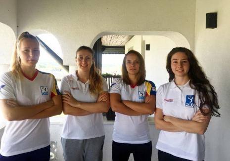 Cu patru orădence în lot, echipa de polo feminin a României abordează dubla cu Germania din play-off-ul pentru Europene