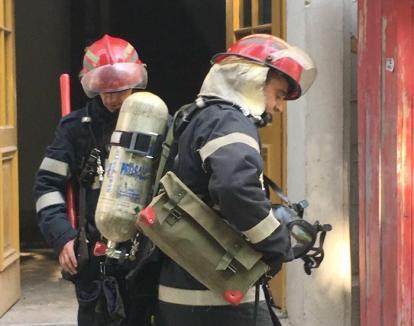 Incendiu fără victime şi fără pagube, în internatul Liceului George Bariţiu