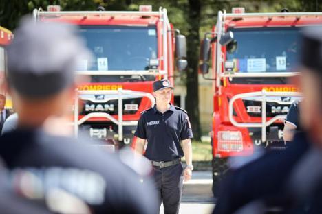 Pompierii români, în frunte cu bihoreanul Alexandru Csilik, au început luptacu incendiile din Grecia. Focarele, monitorizate cu drone(FOTO)