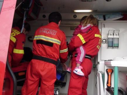 Hai să vezi cum lucrează salvatorii! Demonstraţii SMURD pentru orădeni, la Cetate