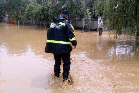 Cod galben de inundaţii, pe Crişul Repede şi Crişul Negru