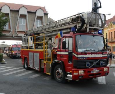 În 2012, pompierii au intervenit, în medie, la 20 de cazuri pe zi