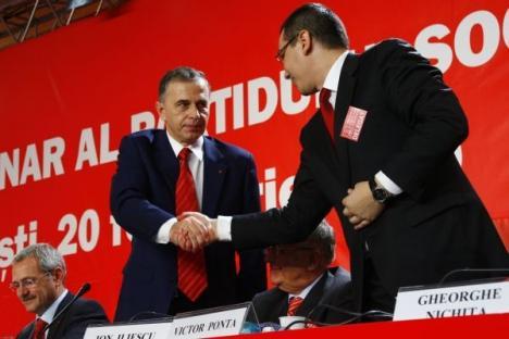 """Ponta n-a crezut în candidaţii PSD. """"În 2009, am votat cu Crin Antonescu la prezidenţiale"""""""