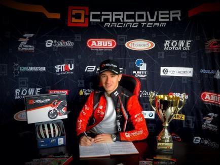 Ciclistul Raul Sînza s-a întors la echipa orădeană CarCover Veloteca