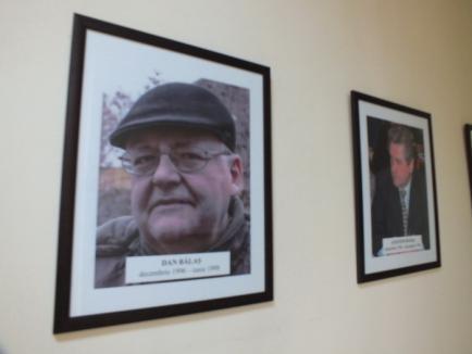 Claudiu Pop 'dă de pereţi' cu înaintaşii: a expus pe hol o galerie cu toţi prefecţii bihoreni din 1990 încoace (FOTO)