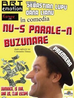 """Premiera """"Nu-s parale-n buzunare"""" îi """"aduce"""" pe Constantin şi Maria Tănase în clubul Escape"""