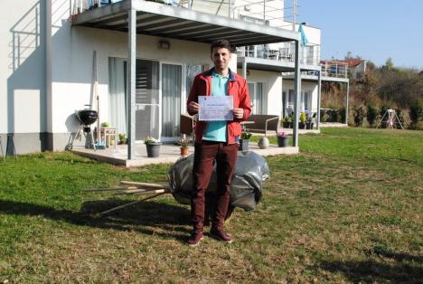 Top 10. Cele mai frumoase asociaţii de proprietari din Oradea au fost premiate de Primărie cu unelte gospodăreşti (FOTO)