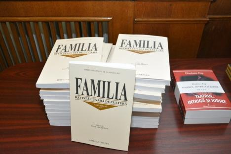 Zilele Revistei Familia au început cu lansări de carte şi cu decernarea celor opt premii tradiţionale (FOTO)