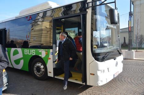 'Dragon' în teste: Municipalitatea va fi obligată să cumpere şi mijloace de transport ecologice (FOTO)