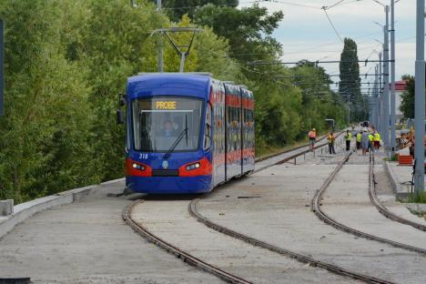 OTL: Staționări tramvai în 20 august