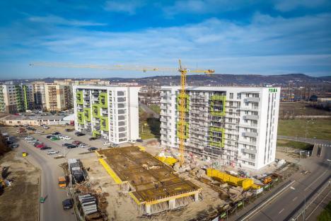 Un nou proiect imobiliar în Oradea: Peste 800 de apartamente în blocuri cu 10 etaje, pe malul Peţei, în zona Seleuş