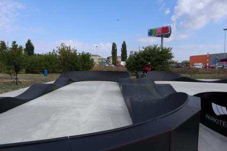 Prima pistă de pump track din Oradea a fost inaugurată. Vezi cum arată! (FOTO / VIDEO)