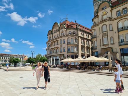 Cum arată prima zi fără mască de protecție în aer liber, în Oradea (FOTO / VIDEO)