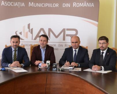 Reuniţi la Oradea, primarii de municipii cer Guvernului să lase în plan local 66% din impozitul pe venit colectat