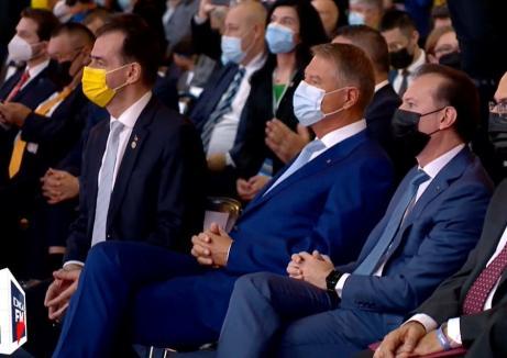 Liberalii îşi aleg şeful: La congresul PNL, preşedintelui Klaus Iohannis i s-a scandat 'Orban!' (VIDEO)