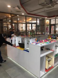 Printări 3D la Crişul Shopping Center (FOTO / VIDEO)