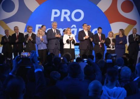 """""""Felicitări, Oradea!"""": Lansare Pro România cu critici la adresa PSD-ului """"antieuropean"""" şi laude la adresa Primăriei Oradea"""