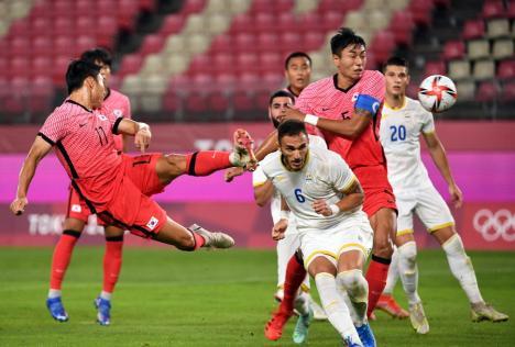 Ne-au scos fotbalul din cap! România învinsă cu 4 - 0 de Coreea de Sud la Jocurile Olimpice