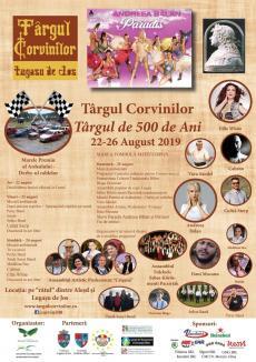 Vine Târgul Corvinilor! Sute de anticari, meşteri populari, producători locali, concerte, spectacole şi un turnir al şoferilor de rable, în Bihor