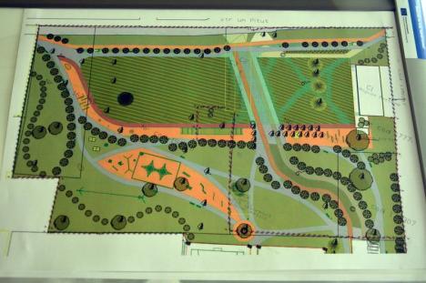 Parc de 1,5 hectare, cu pajişte şi terenuri de sport, pe strada Ion Bogdan din Oradea. Vezi cum va arăta! (FOTO)