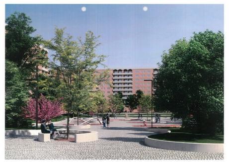 Centre de cartier: Parcul Magnoliei şi zona din jurul McDonald's Nufărul se transformă în piaţete (FOTO)