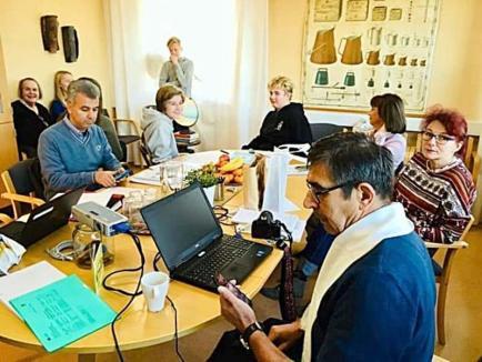Profesori de la Liceul 'Lucian Blaga' în Suedia (FOTO)