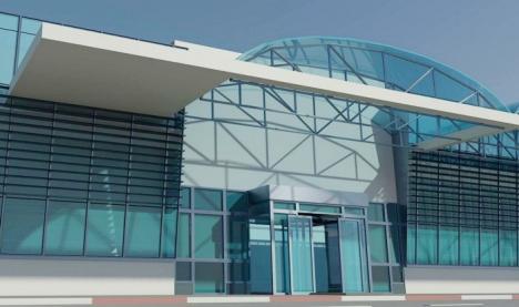 Aeroportul Oradea va lua un împrumut de 6,7 milioane lei pentru noul terminal