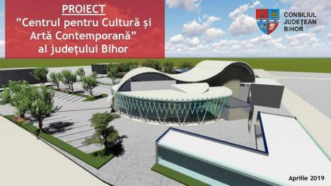 Ioan Mang a 'puiat' o idee: Consiliul Judeţean Bihor să facă un Centru pentru Cultură şi Artă Contemporană, cu până la 1.055 locuri (FOTO)