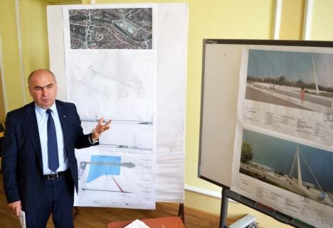 Primăria Oradea va construi încă un pod peste Crişul Repede. Vezi cum va arăta! (FOTO)