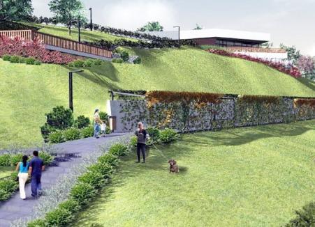 După trei licitații! Dealul Ciuperca va fi refăcut de Gavella pentru 2,6 milioane lei