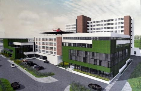 Consiliul Local Oradea: Investiţii de 17 milioane euro în extinderea ambulatorului Spitalului Judeţean, amenajarea unui incubator de afaceri şi pietonalizarea străzii Libertăţii (FOTO)